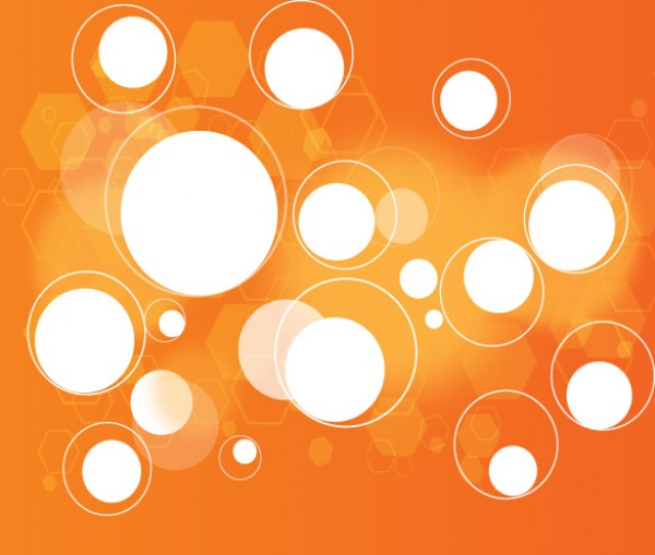 Light Orange Abstract Background