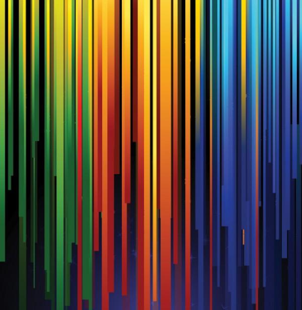 Brilliant Color Stripes Vector Background Welovesolo