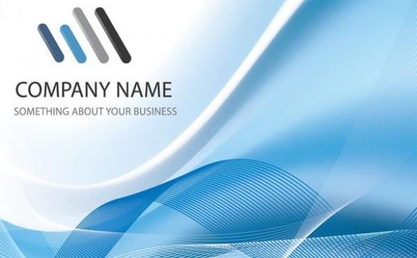 Cool Blue Business Vector Background WeLoveSoLo