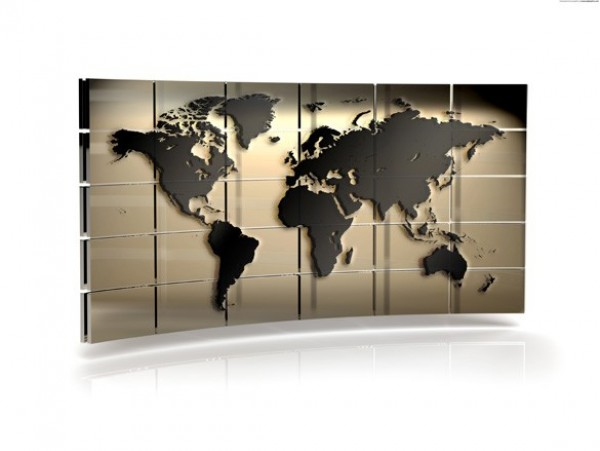 High Def World Map Wall Background Welovesolo