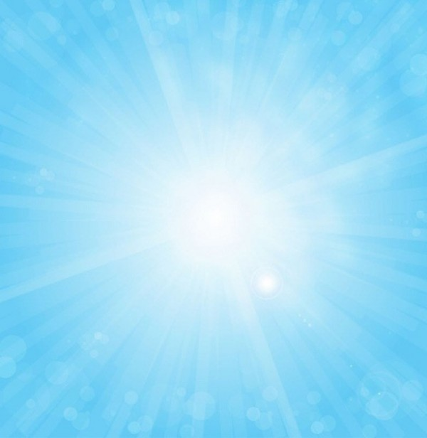 Sunny Blue Sky Vector Background Welovesolo