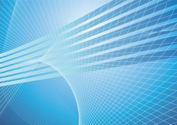 Blue Radiant Lines Abstract Vector Background Welovesolo