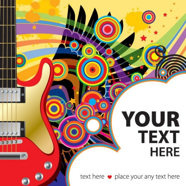 wings web vector unique ui stylish quality original new music interface illustrator high quality hi-res HD guitar graphic fresh free download free elements electric guitar download detailed design creative circles background abstract