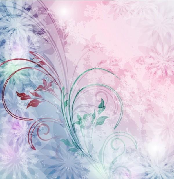 soft pink floral background wwwimgkidcom the image
