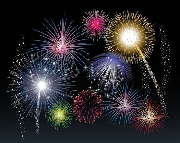 web vector unique stylish quality original new lights illustrator high quality graphic fresh free download free Fireworks explosions download display design creative celebration background