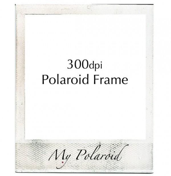 Authentic Vintage Polaroid Frame Psd - Welovesolo