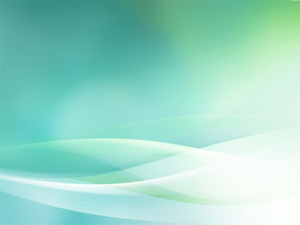 green waves background