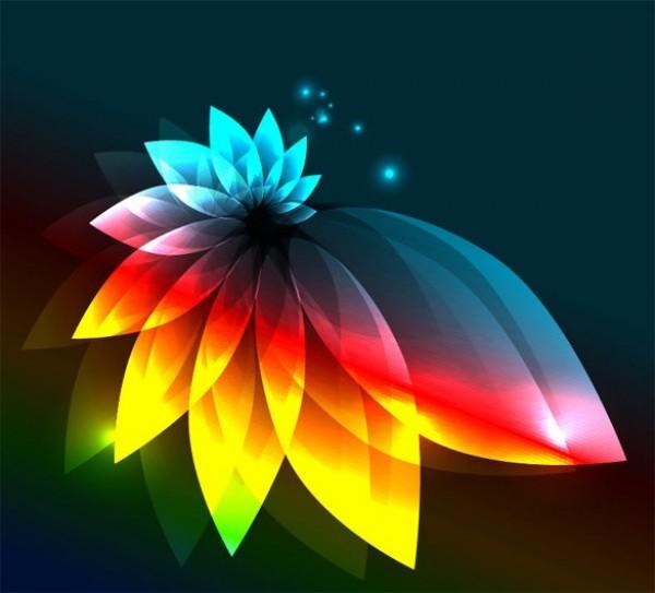 Illuminated lotus flower abstract vector background welovesolo illuminated lotus flower abstract vector background mightylinksfo