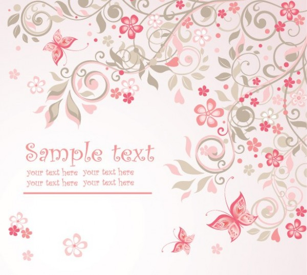 delicate pink floral butterfly abstract background mary kay logos images mary kay logos download