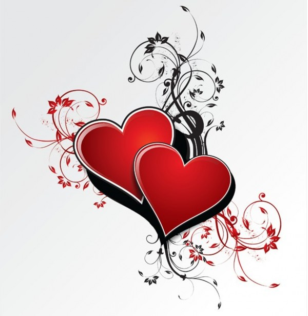 web vector unique ui elements stylish scroll red quality PDF original new love jpg interface illustrator high quality hi-res hearts HD graphic fresh free download free floral EPS elements download detailed design creative black background AI abstract