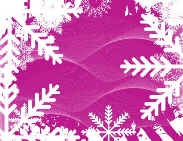 winter white web wavy wave vector unique ui elements stylish snowy snowflake quality pink original new interface illustrator high quality hi-res HD graphic frosty fresh free download free frame elements download detailed design creative background AI abstract