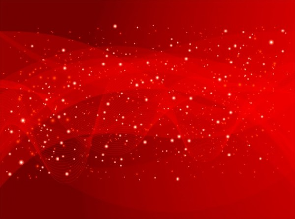 Gauzy Starry Red Abstract Vector Background Welovesolo