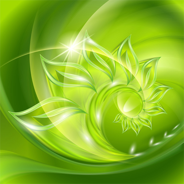 Birth Of Nature Abstract Background
