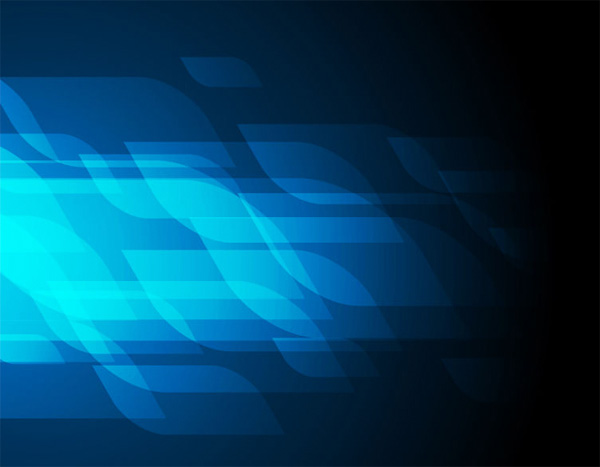 Blue Abstract Futuristic Vector Background Welovesolo