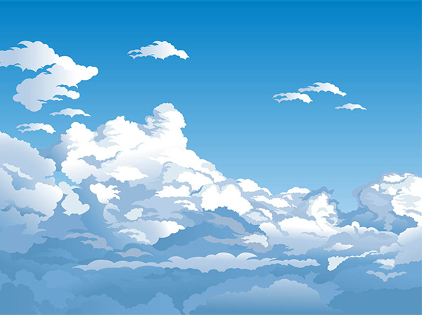 white clouds vector summer sky skies free download free clouds blue skies blue background