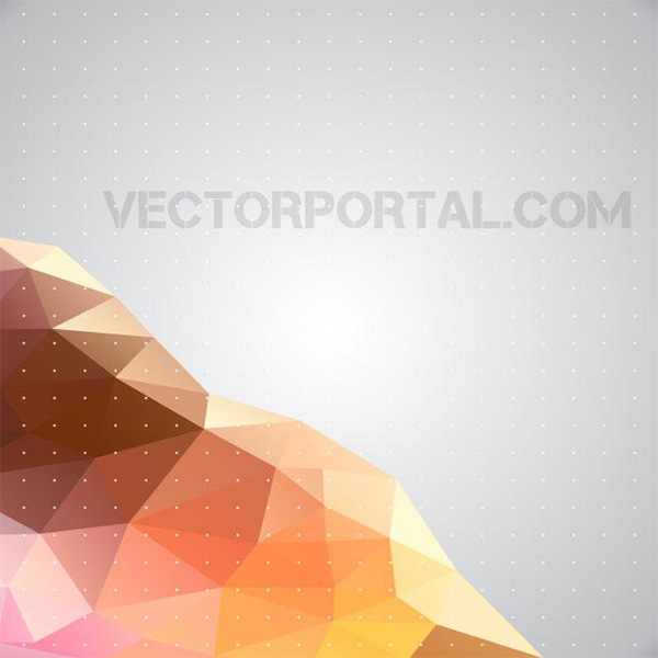 vector polygon grey free download free facets dotted dots diamond background abstract
