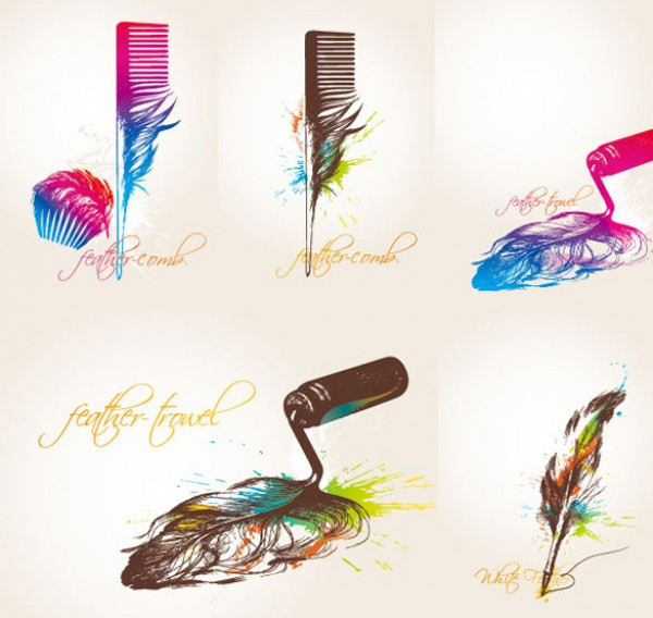 web Vectors vector graphic vector unique ultimate ui elements trowel quill quality psd png Photoshop pen pack original new modern jpg illustrator illustration ico icns high quality hi-def HD fresh free vectors free download free feather quill feather pen feather elements download design creative comb AI abstract