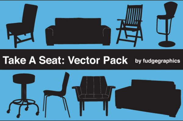 web Vectors vector graphic vector unique ultimate stool sofa silhouettes quality Photoshop pack original new modern illustrator illustration high quality furniture fresh free vectors free download free download design creative couch chair arm chair AI