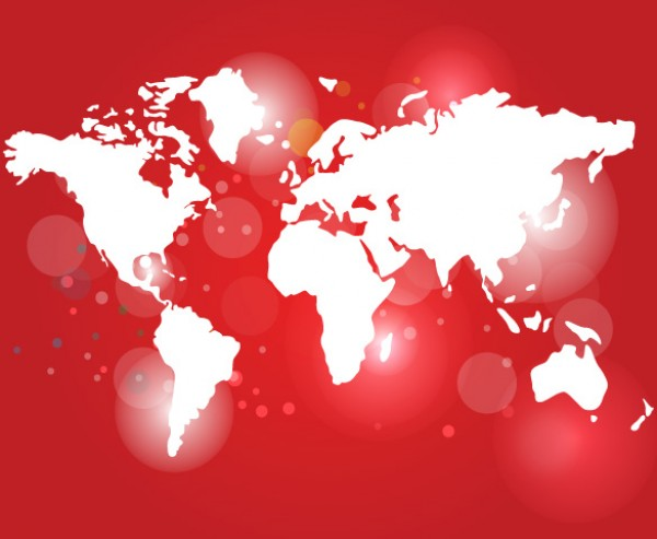 Illuminated red world map vector welovesolo world map world vectors vector graphic vector unique red quality photoshop pack original modern map illustrator gumiabroncs Gallery