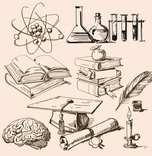 Science labs, Vintage style and Back to school on Pinterest