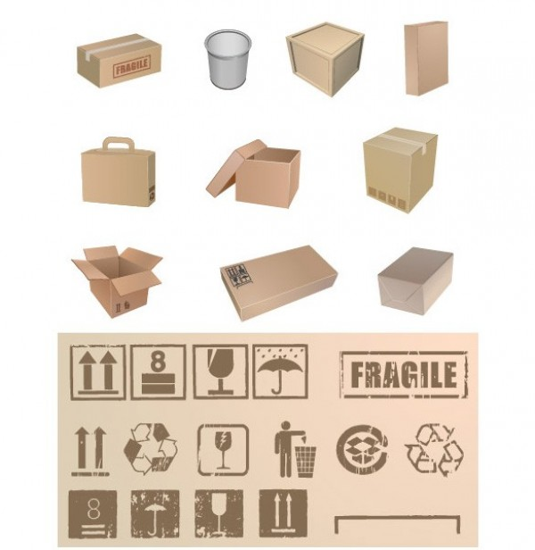 web vector unique symbols stylish shipping boxes shipping quality packing stamps packing original illustrator high quality graphic fresh free download free download design creative cardboard box boxes