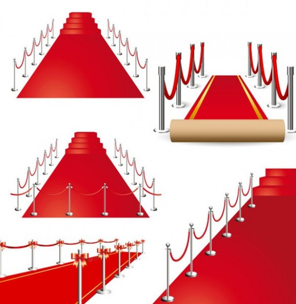 carpet roll vector. roll out the red carpet vector graphics e