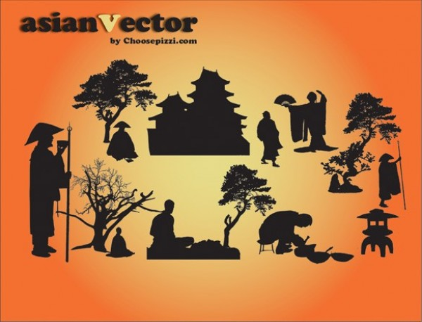 web vector unique ui elements tree stylish silhouette scene quality psd pagoda original oriental new Japanese japan interface illustrator high quality hi-res HD graphic fresh free download free EPS elements download detailed design creative chinese china bonsai Asian AI