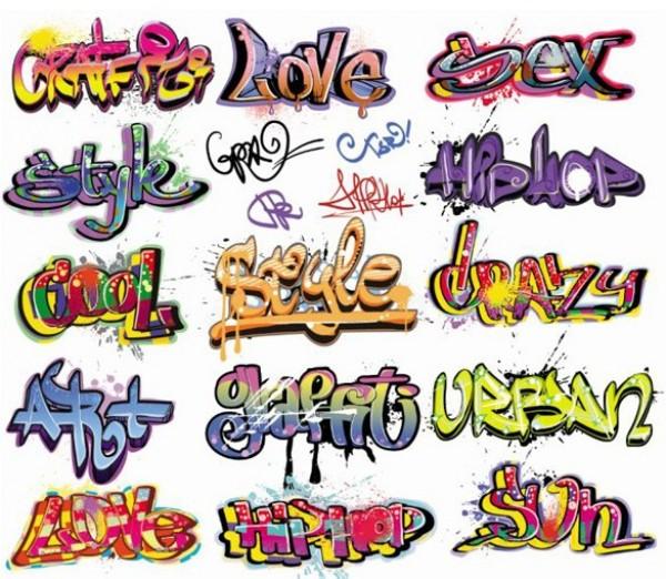 crazy graffiti vector - photo #15