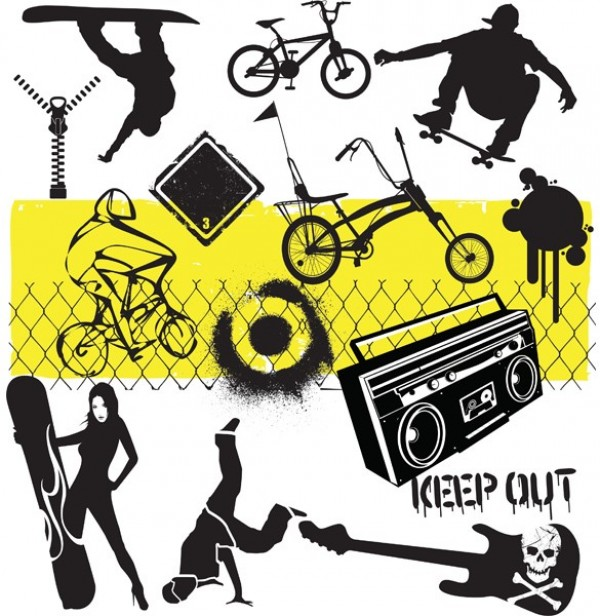 zip youth wire web vector urban unique ui elements tricks stylish street kids spray sports snowboarder snowboard snow skull skating skateboarding skate silhouette sign sexy rough quality paint original music interface illustrator high quality hi-res HD guitar grunge graphic graffiti fresh free download free fence female extreme elements electric guitar download detailed design dancer creative board bike bicycle