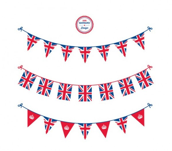 web vector unique Union Jack ui elements templates stylish set quality patriotic original new Jubilee bunting interface illustrator high quality hi-res HD hanging graphic fresh free download free flags England elements download detailed design decoration creative AI