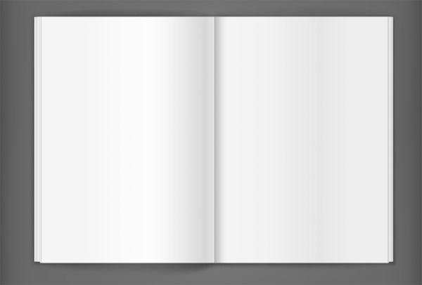 white vector template pages notebook journal free download free book blank