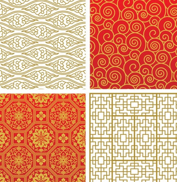 web vector unique stylish seamless repeatable quality Patterns original oriental new illustrator high quality graphic fresh free download free floral download design creative background Asian