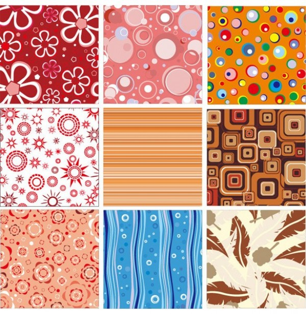 Seamless Abstract Pattern Vector Abstract Seamless Patterns