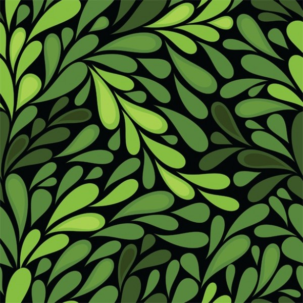 green nature leaves seamless vector background welovesolo