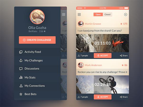 Cool App Designs App · Cool Colors Ios7