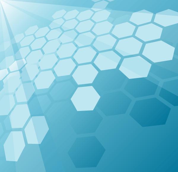 blue hexagonal pattern vector - photo #25