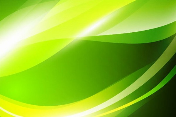 Eco Green Abstract Vector Waves Background Welovesolo