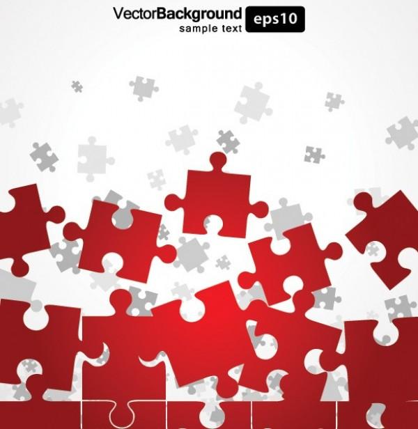 Puzzle Pieces Background Free Vector Pieces Vector Background