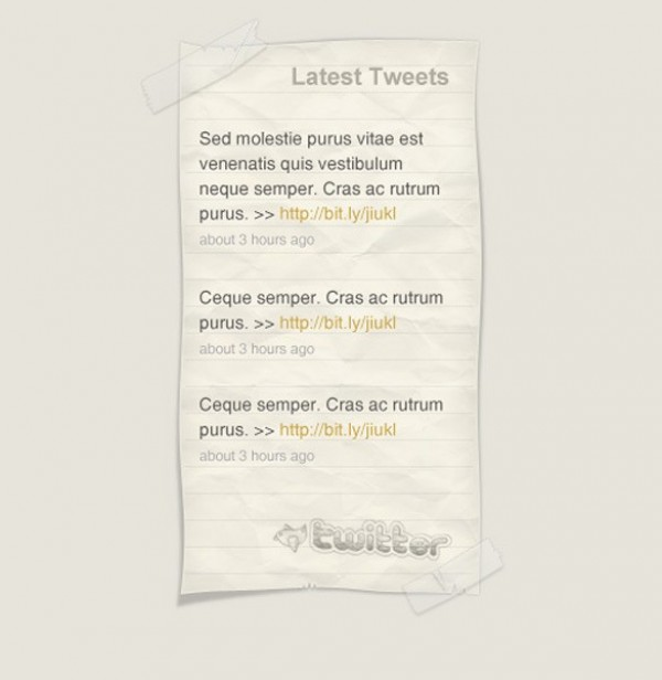 thesis twitter plugin