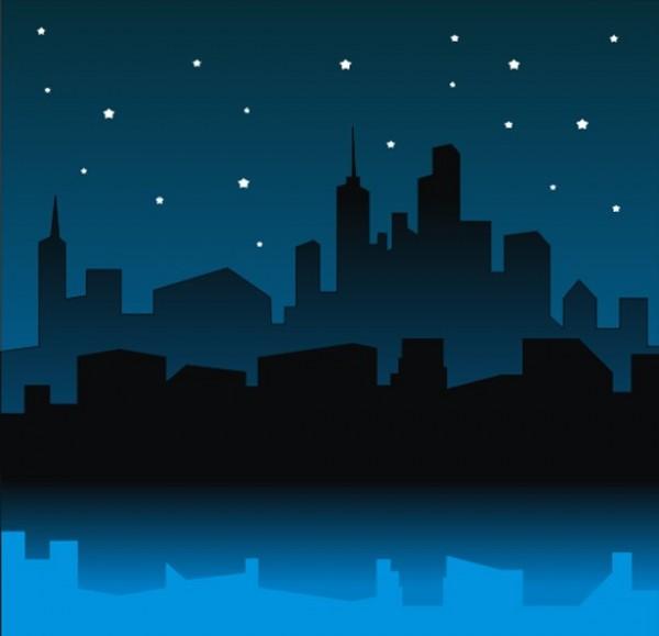 cartoon night vector wallpaper - photo #43