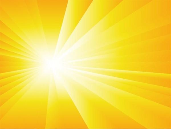 Brilliant Sun & Stars Abstract Vector Background - WeLoveSoLo