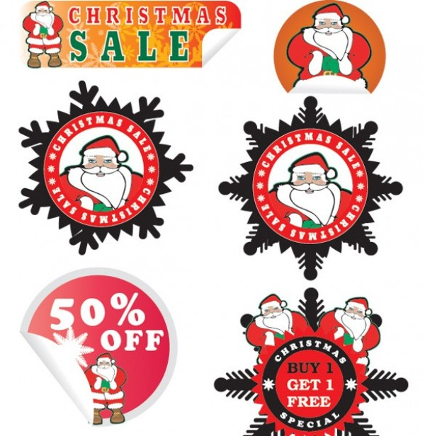 web vector unique ui elements stylish stickers set sales red quality original new interface illustrator high quality hi-res HD graphic fresh free download free EPS elements download detailed design creative christmas