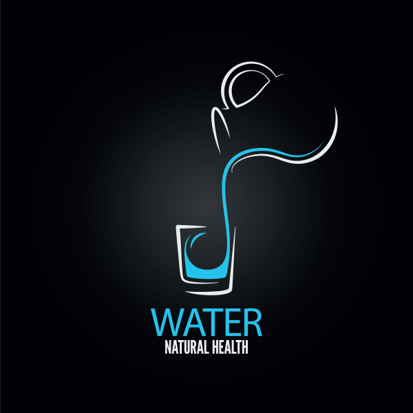 water environment vector logo logotype welovesolo