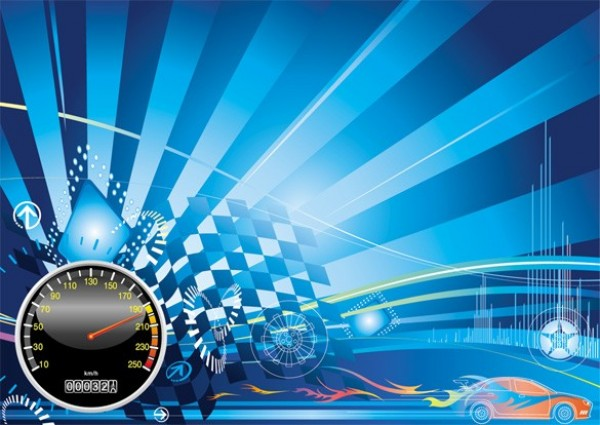 Car Racing Backgrounds Vector Background Car Racing