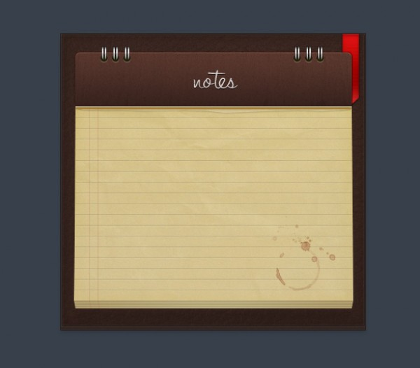 wood sharp ribbon red psd professional photoshop psd notepad free psd free downloads digital clean brown
