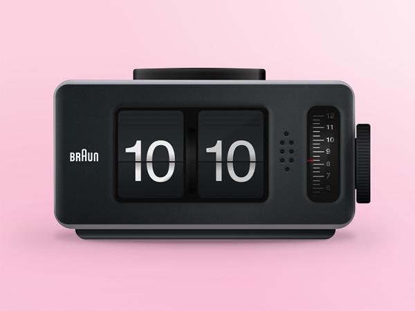 Digital Clock Radio Design Sketch App Welovesolo