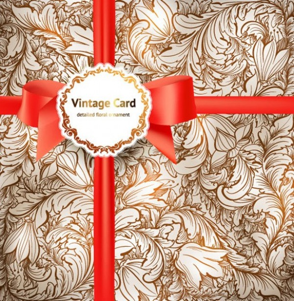 web vintage vector unique ultimate ui elements stylish ribbon quality pattern pack ornament original new modern interface illustration high quality high detail hi-res HD graphic gift wrap gift fresh free download free floral card floral elements download detailed design creative bow background