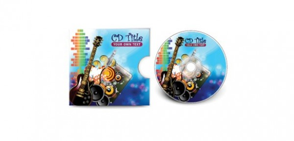 3 Inspiring Music CD Covers Design Set - WeLoveSoLo