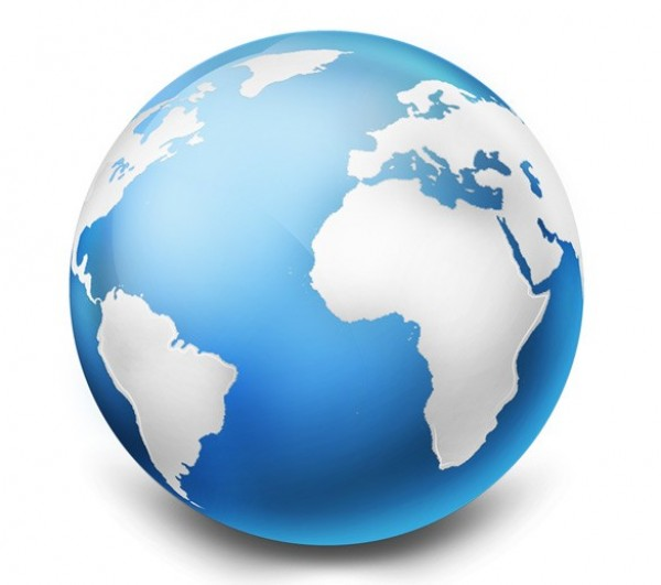 Realistic Earth Globe Graphic Psd Png Welovesolo