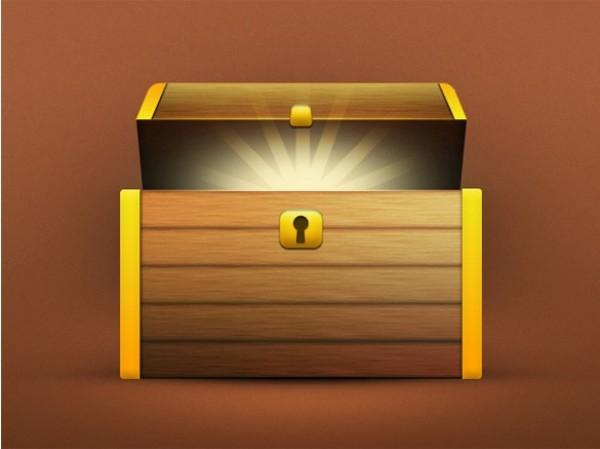 Template Treasure Chest Box